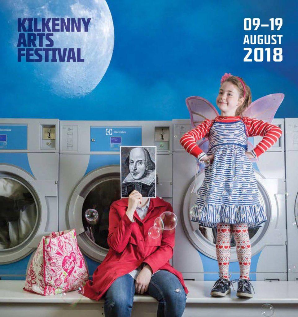 Cover of Kilkenny Arts Festival brochure. Photo: Ste Murray